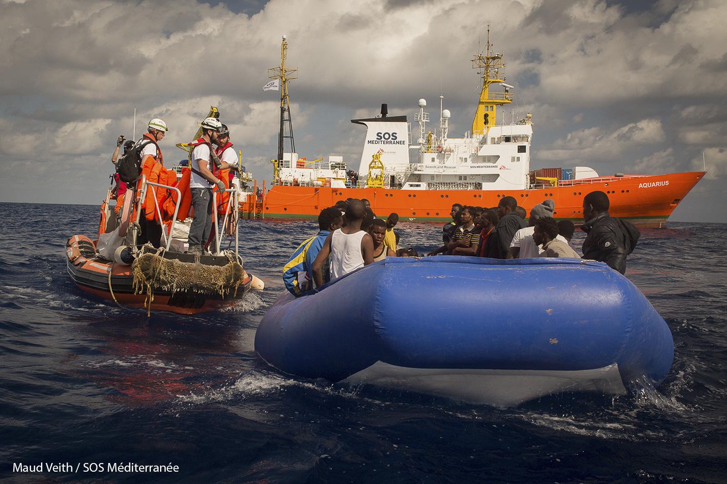 Le Panama révoque le pavillon de l'Aquarius sous la pression du gouvernement italien