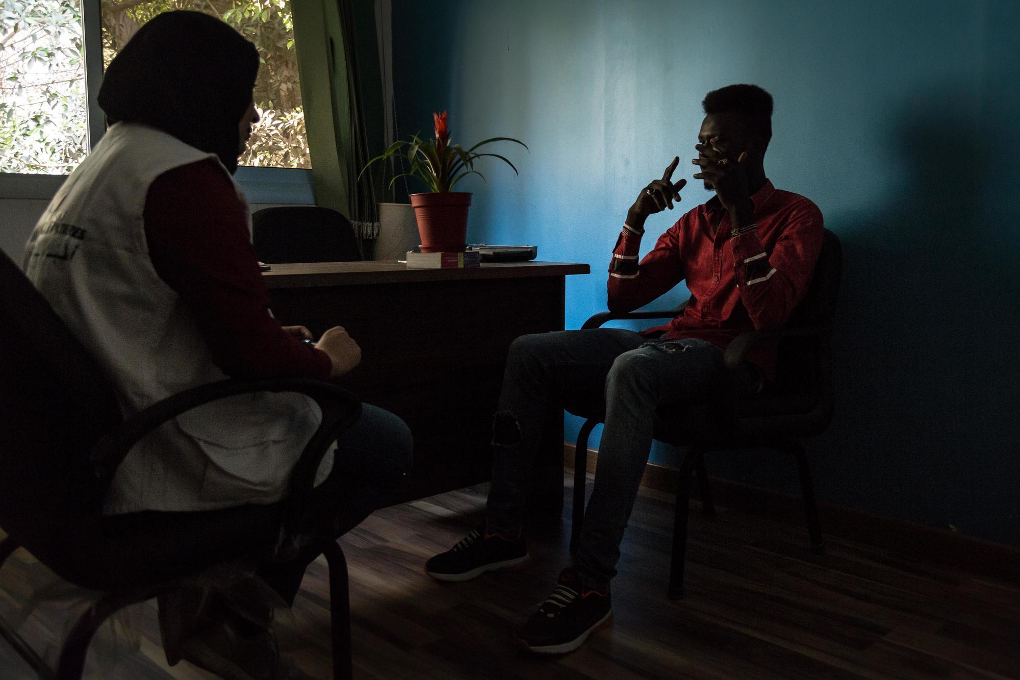Égypte : un centre de santé dédié au traitement des blessures des migrants