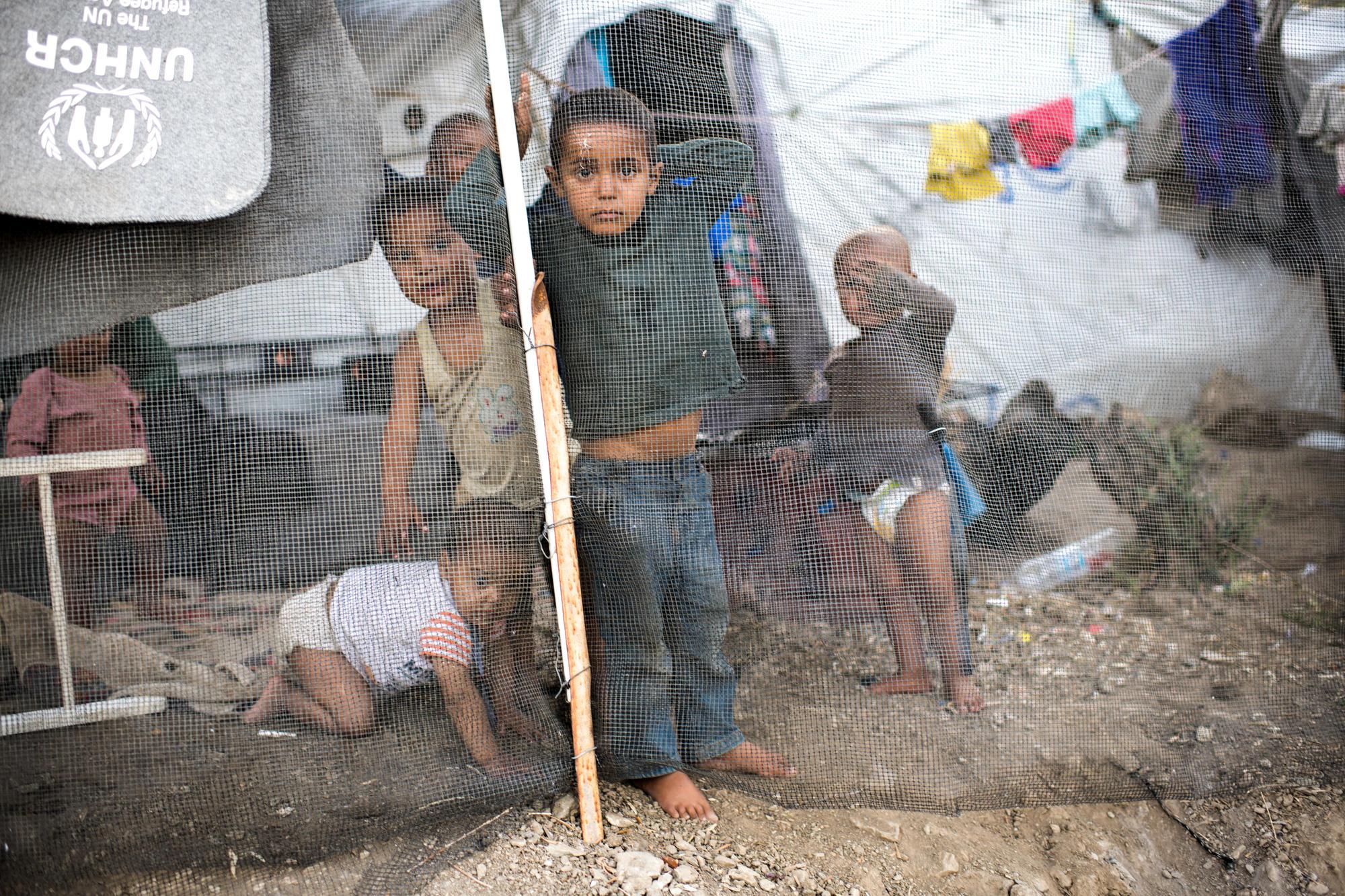 Lesbos : urgence médicale dans le plus grand hotspot de l'Union européenne