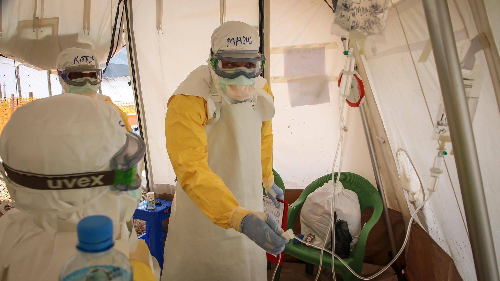 République démocratique du Congo : « l'épidémie Ebola n'est pas maitrisée »