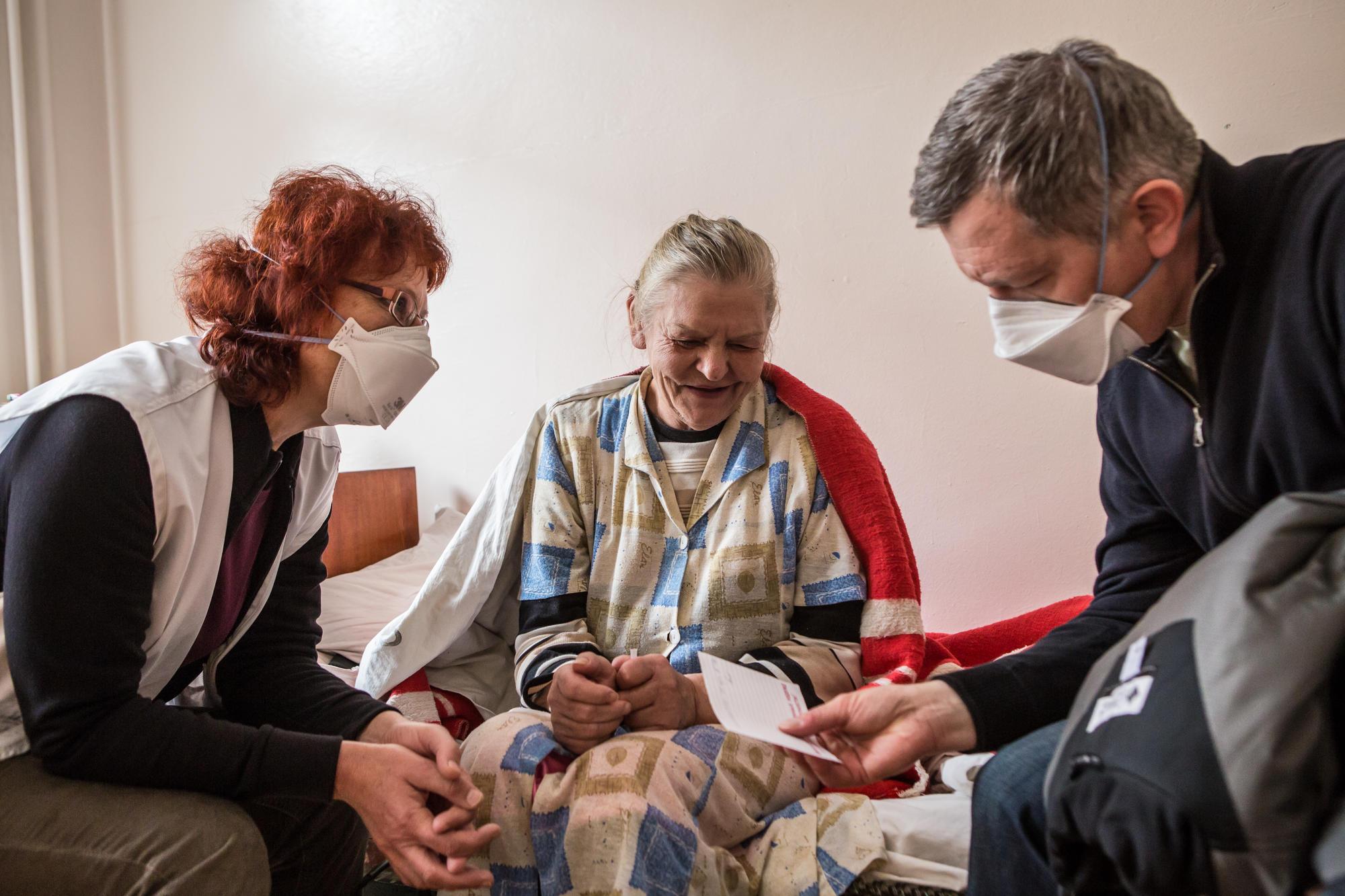 Ukraine : un nouveau programme pour les patients atteints par la tuberculose