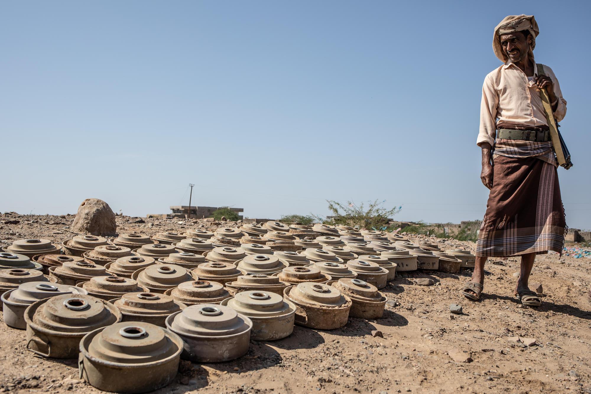 Yémen : dans le sud-ouest du pays, la population prise au piège des mines