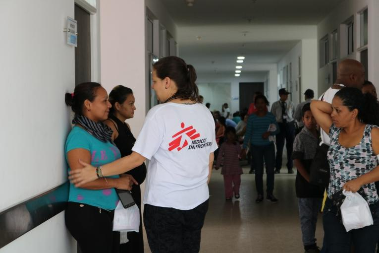 Accueil Centre MSF Colombie