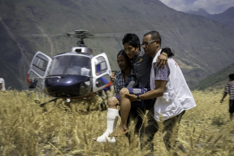 MSF Response to Nepal Earthquake