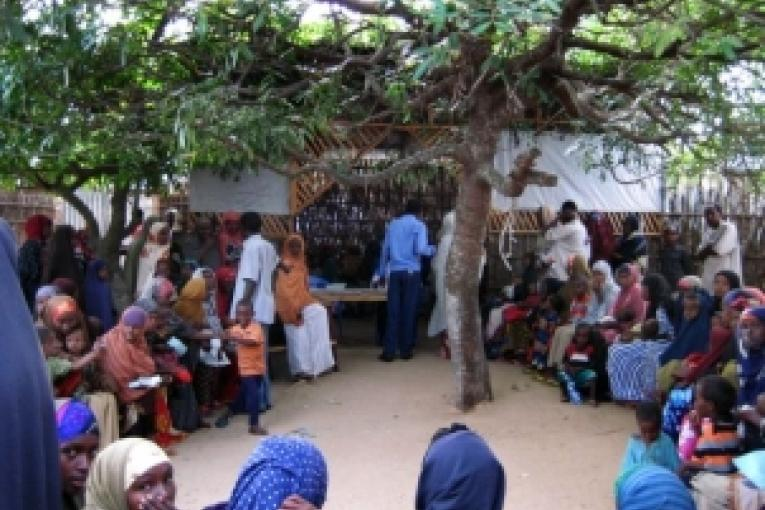 Centre nutritionnel MSF Hawa Abdi  juin 2008