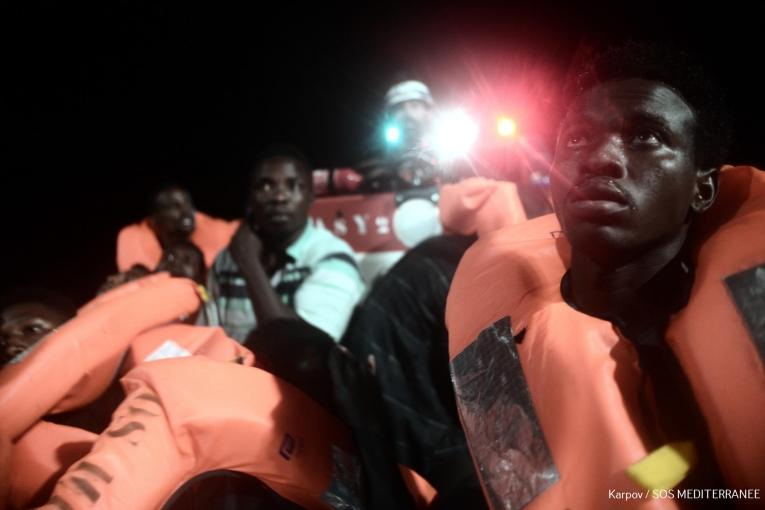 Les 49 migrants arrivés à La Vallette — Sea Watch