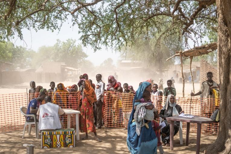 MSF Campagne vaccination Rougeole Tchad 2019