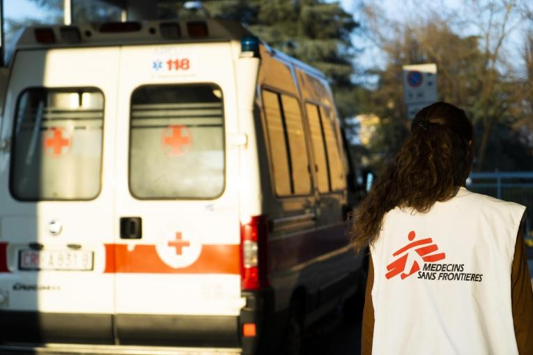 MSF intervention in Codogno, north Italy