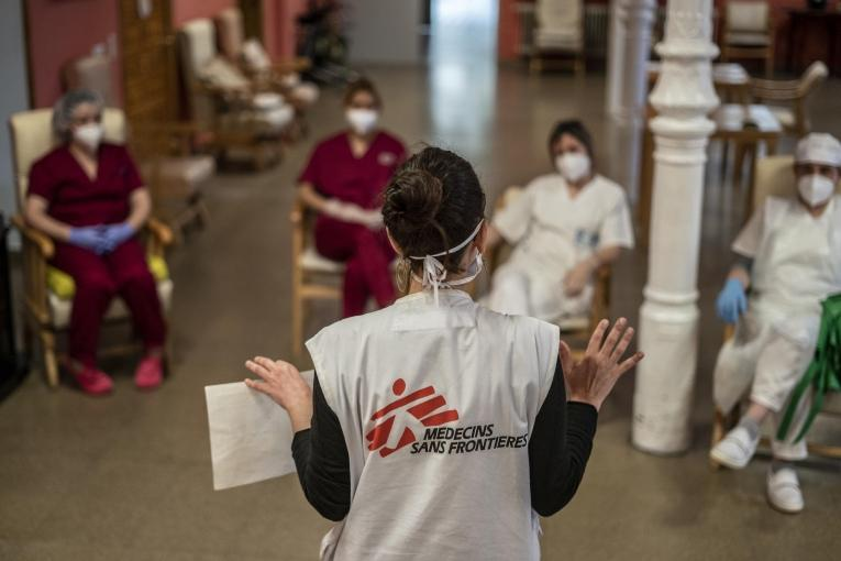 MSF intervention in care homes