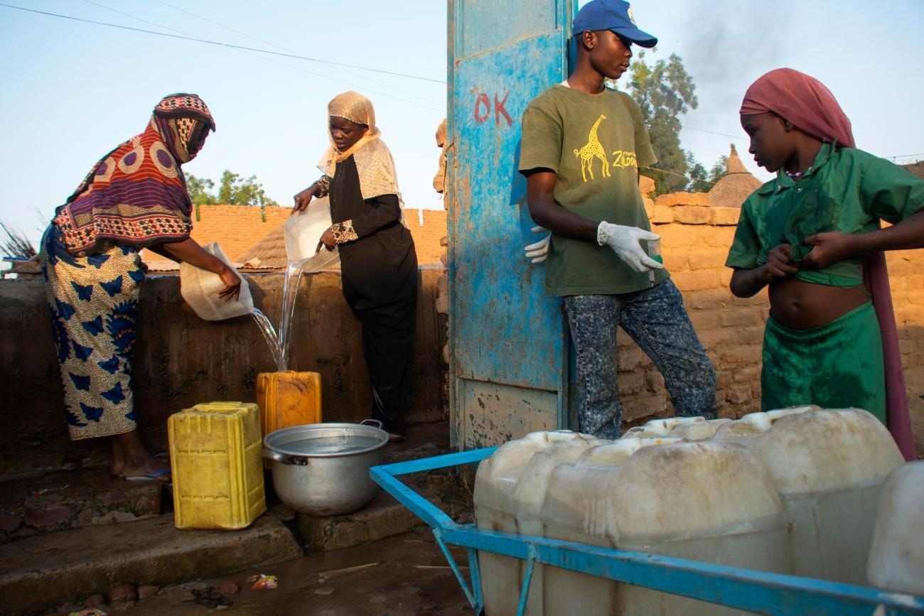 Malgré l'intervention de MSF dans la région de Salamat, la réponse à l'épidémie reste insuffisante.  © Abdoulaye Barry