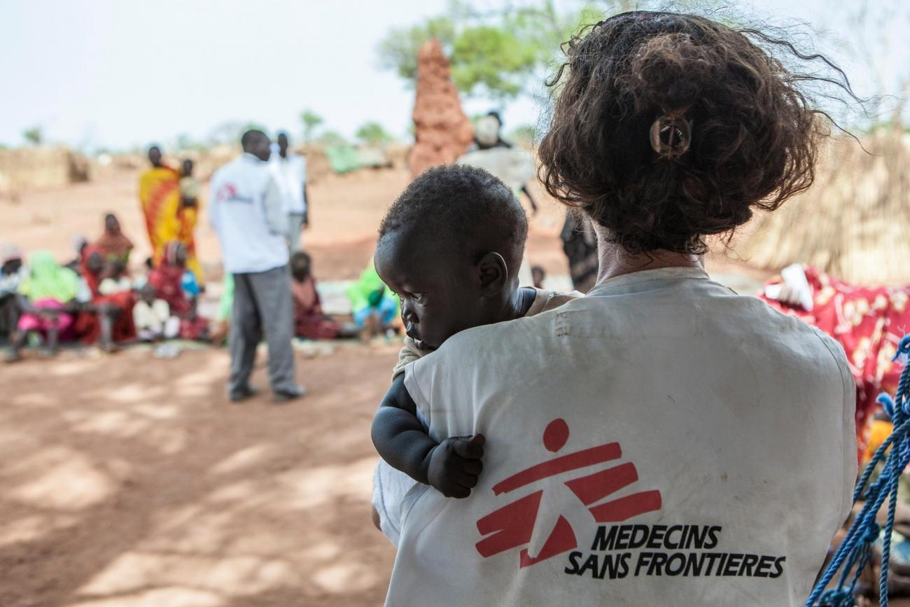 Camp de réfugiés de Yida, Soudan du Sud, avril 2013.  © Yann Libessart/MSF