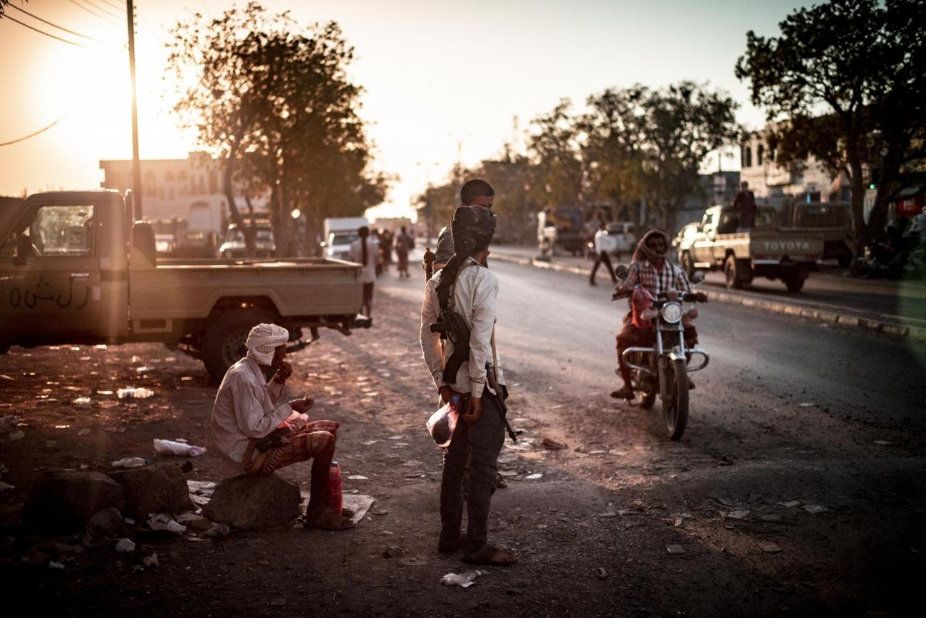 Yémen, novembre 2018. Ville de Mocha.  © Guillaume Binet / MYOP