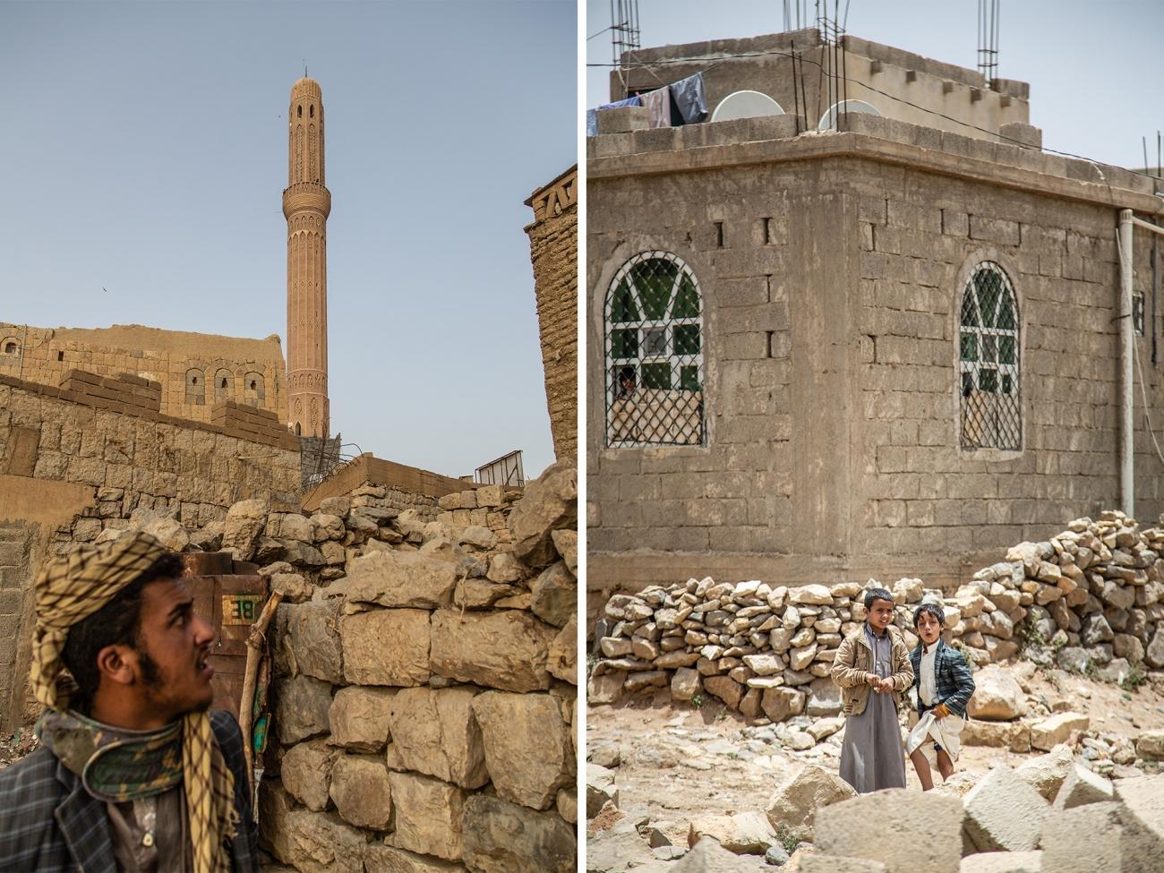 Vieille-ville de Khamer, dans le gouvernorat d'Amran, avril 2019.  © Agnes Varraine-Leca/MSF