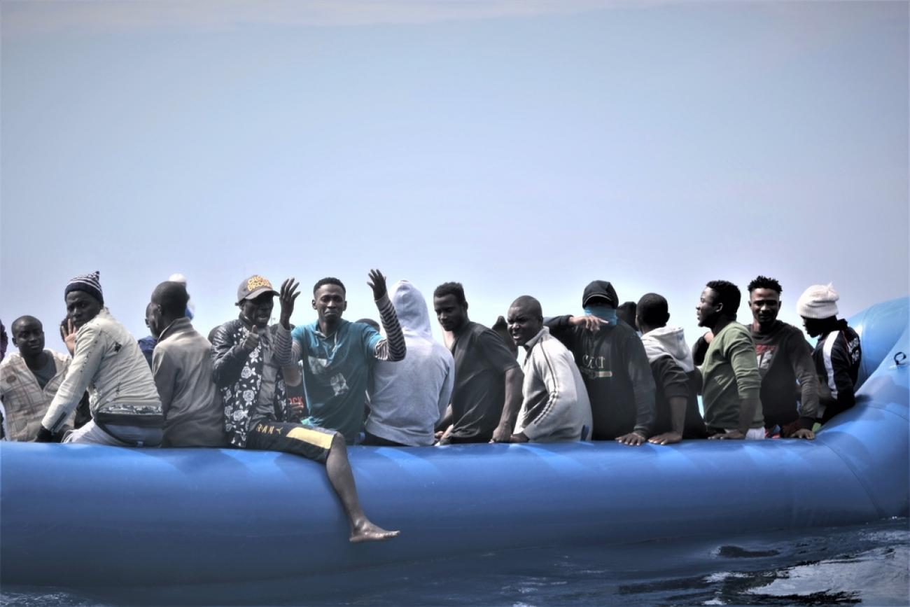 Mer Méditerranée.  © Hannah Wallace Bowman/MSF
