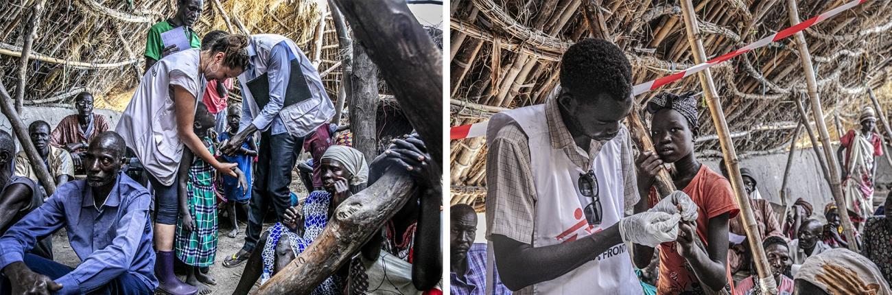 Les équipes MSF viennent en aide à la population de la région, lourdement affectée par les récentes inondations.  © Nicola Flamigni/MSF