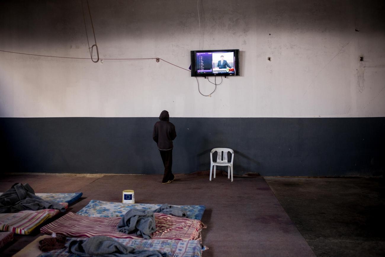 Centre de détention de Trig Al Matar.  © Guillaume Binet/Myop