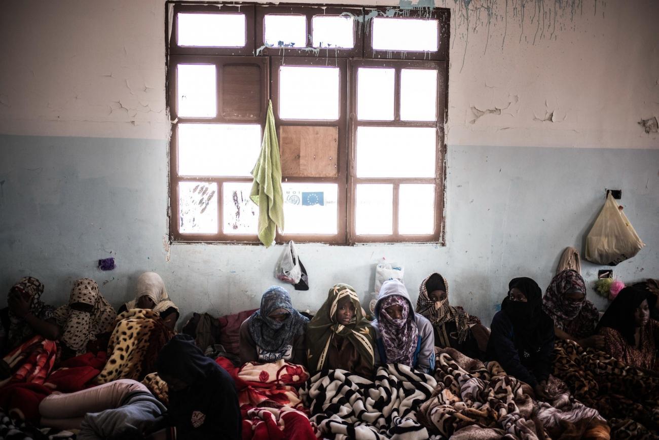 Centre de détention pour femmes de Sorman detention.  © Guillaume Binet/Myop