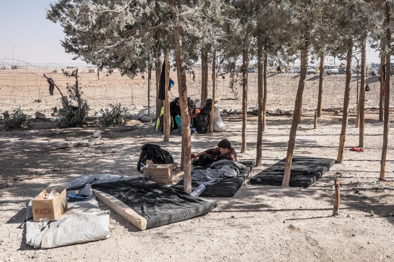 Camp d'Ain Issa, septembre 2017.  © Agnes Varraine-Leca