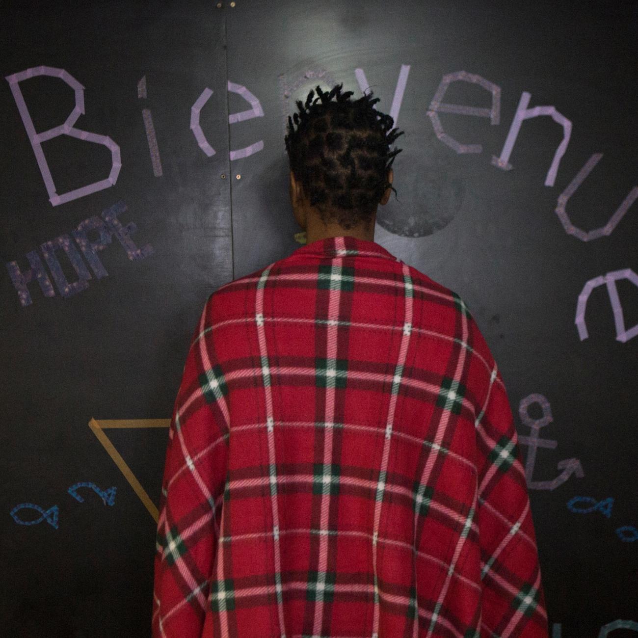 Alia, 22 ans, Guinée Conakry.  © Martina Bacigalupo/Agence Vu'