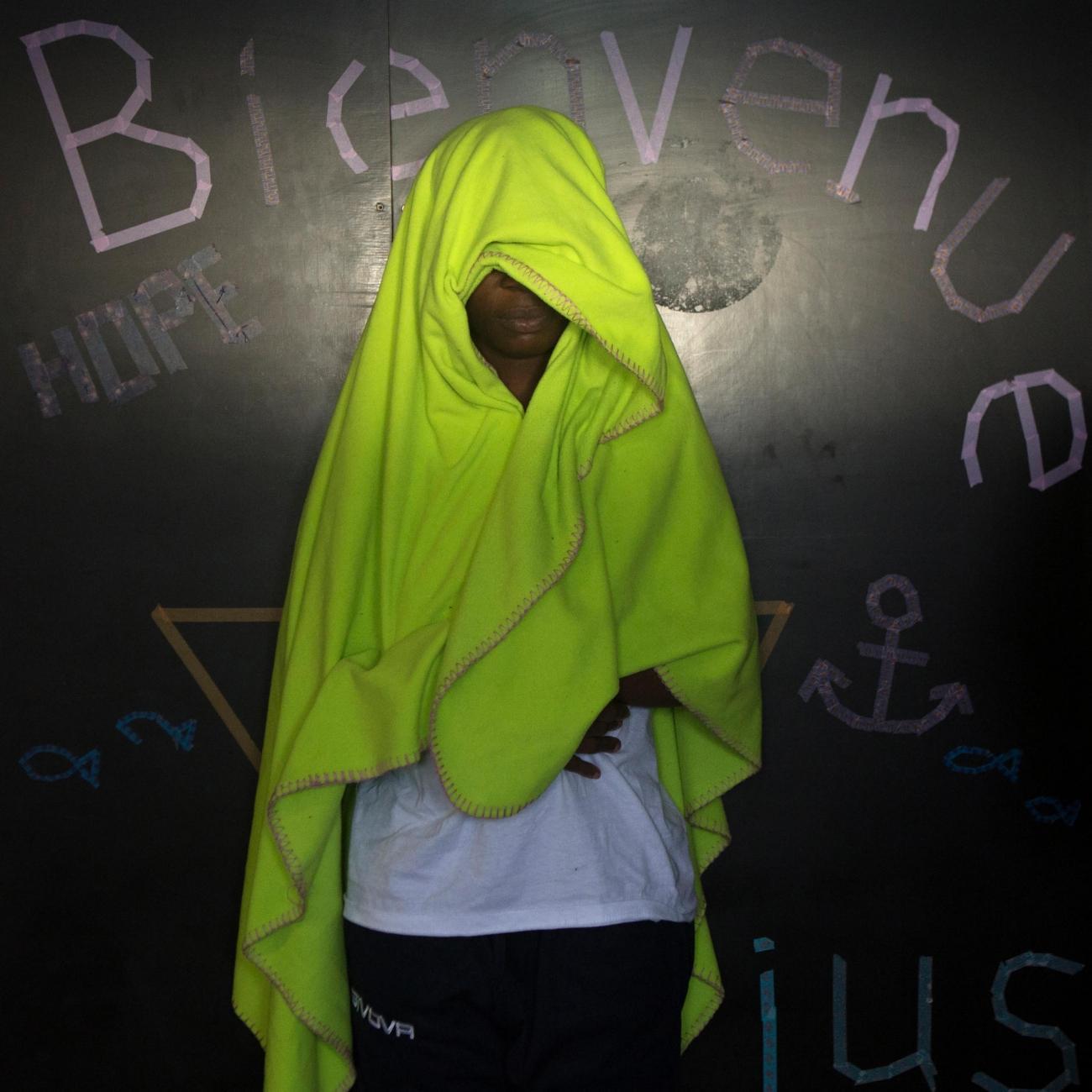 Aurey, 29 ans, Cote d'Ivoire.  © Martina Bacigalupo/Agence Vu'