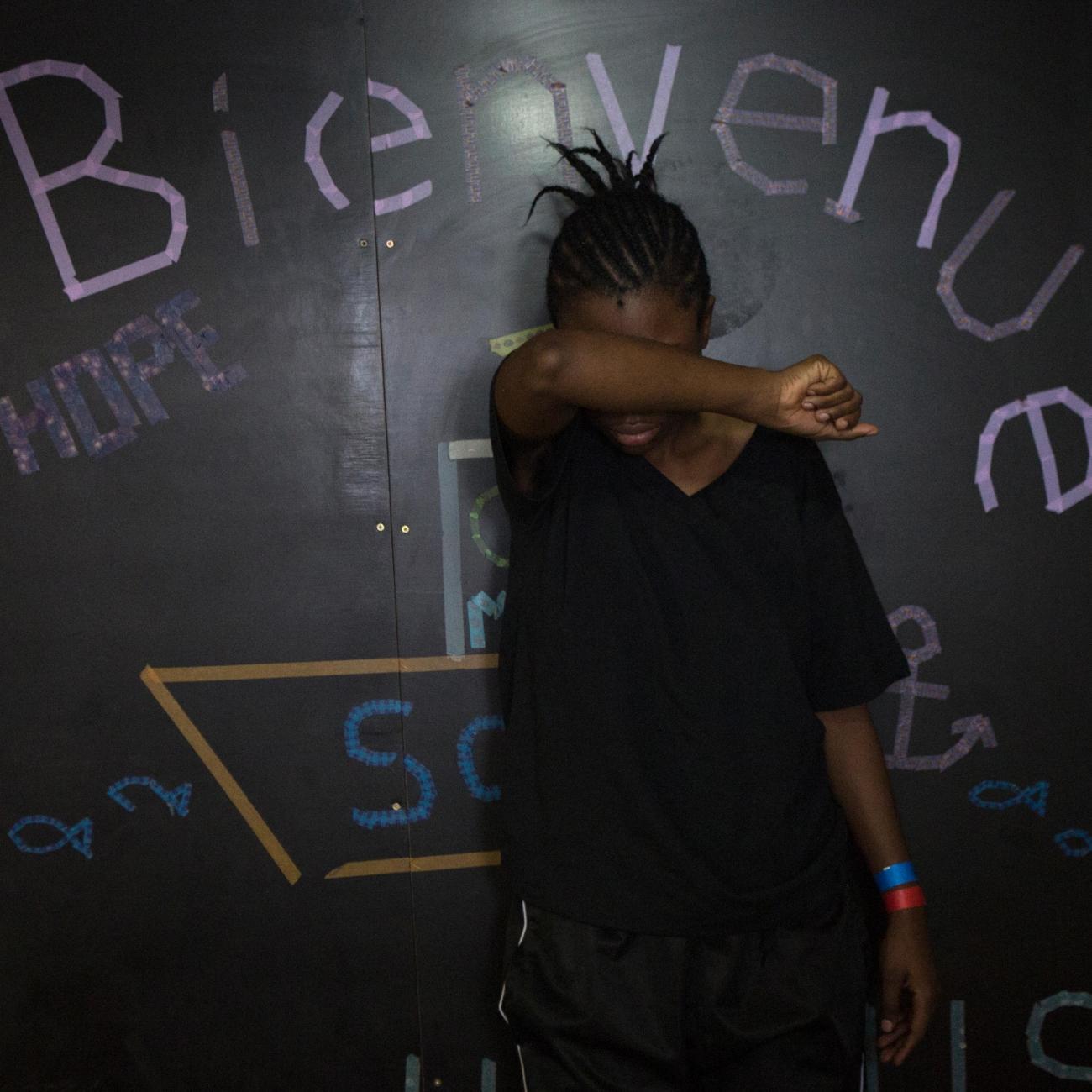 Awa, 23 ans, Cameroun.  © Martina Bacigalupo/Agence Vu'