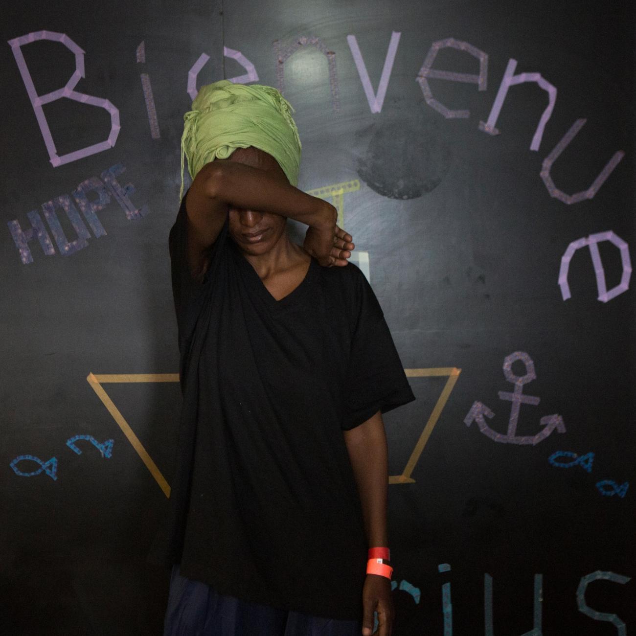 Salam, 34 ans, Érythrée.  © Martina Bacigalupo/Agence Vu'