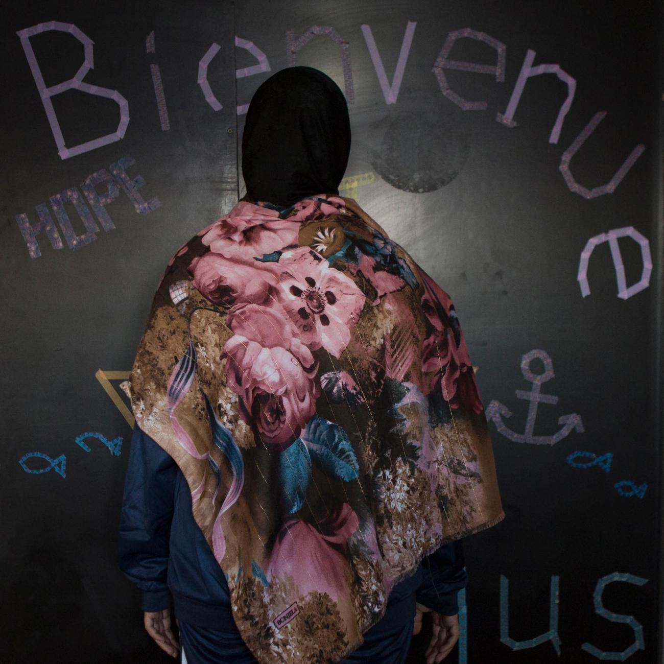Rim, 24 ans, Syrie.  © Martina Bacigalupo/Agence Vu'