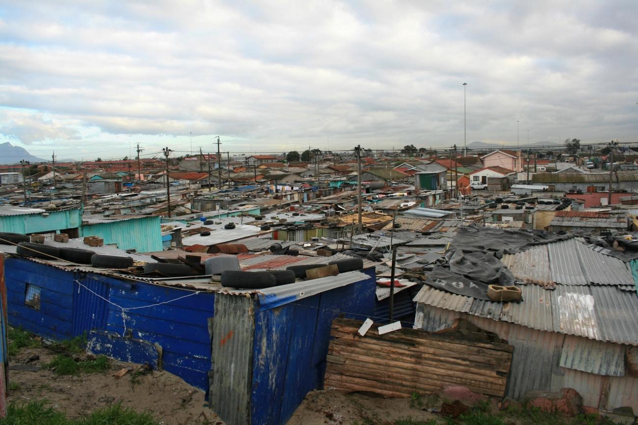 Township de Khayelitsha, Le Cap, mars 2011.  © Kenneth Tong