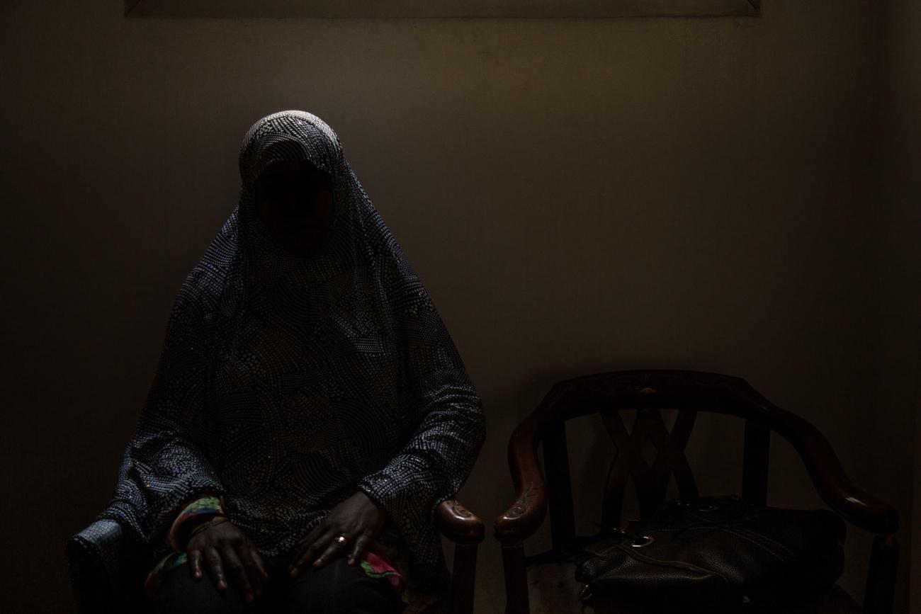 Une patiente de la clinique de Maadi.Égypte. 2018.  © Sima Diab