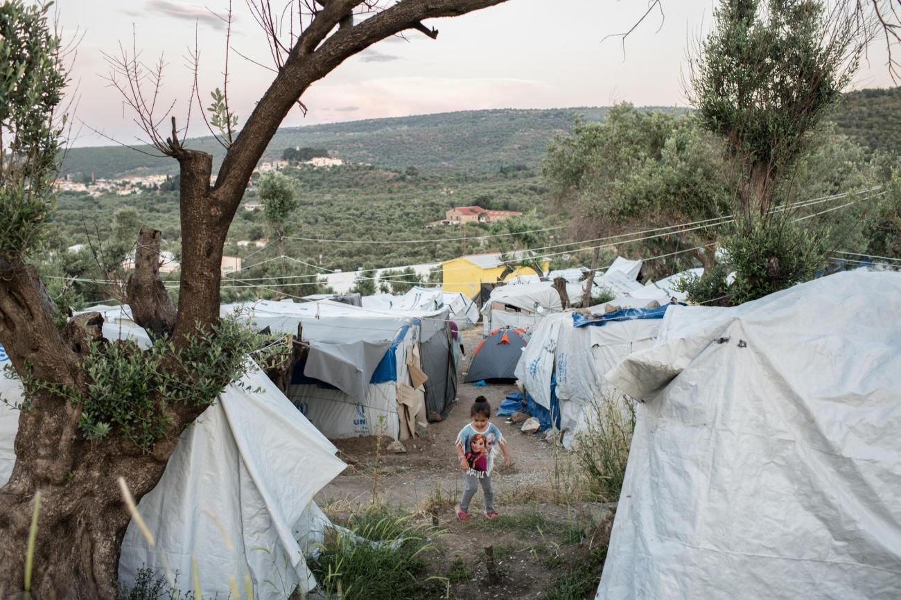 Camp de Moria sur l'île de Lesbos. Grèce. 2018.  © Robin Hammond/Witness Change