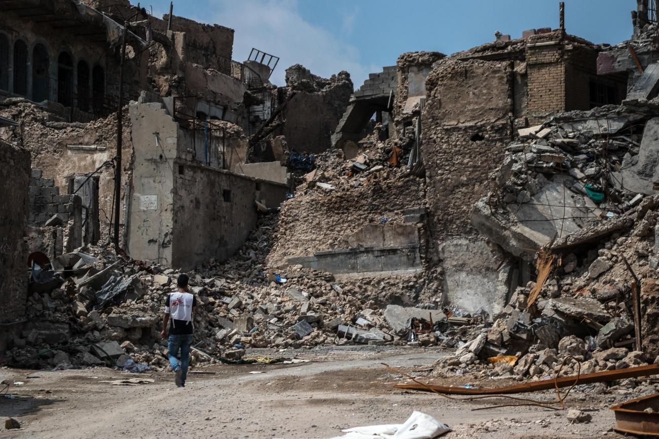 Irak, Mossoul  © Sacha Myers/MSF