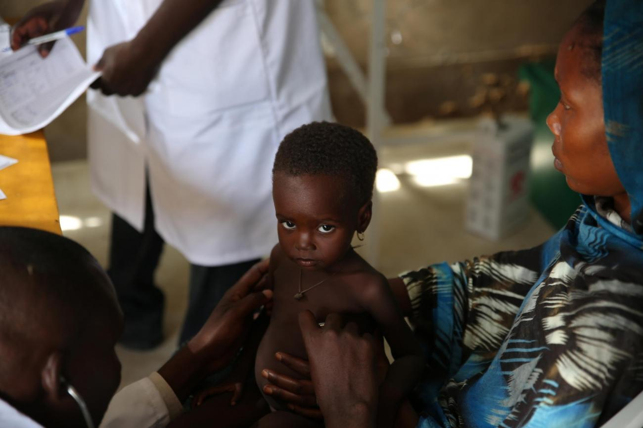 Tchad, N'Djamena, août 2018.  © Mohammad Ghannam/MSF