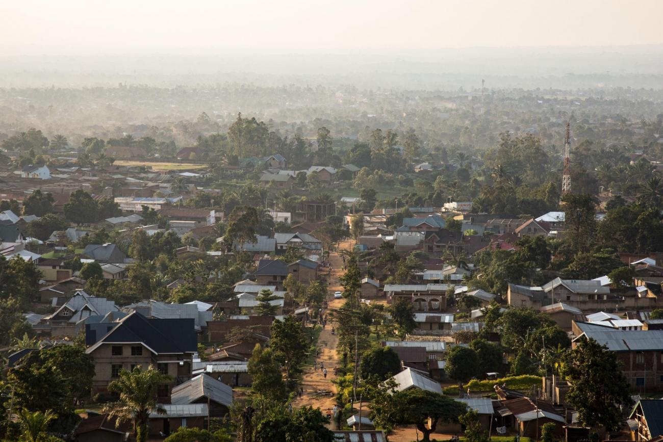 Vue de la ville deBeni dans leNord-Kivu  © Pablo Garrigos/MSF