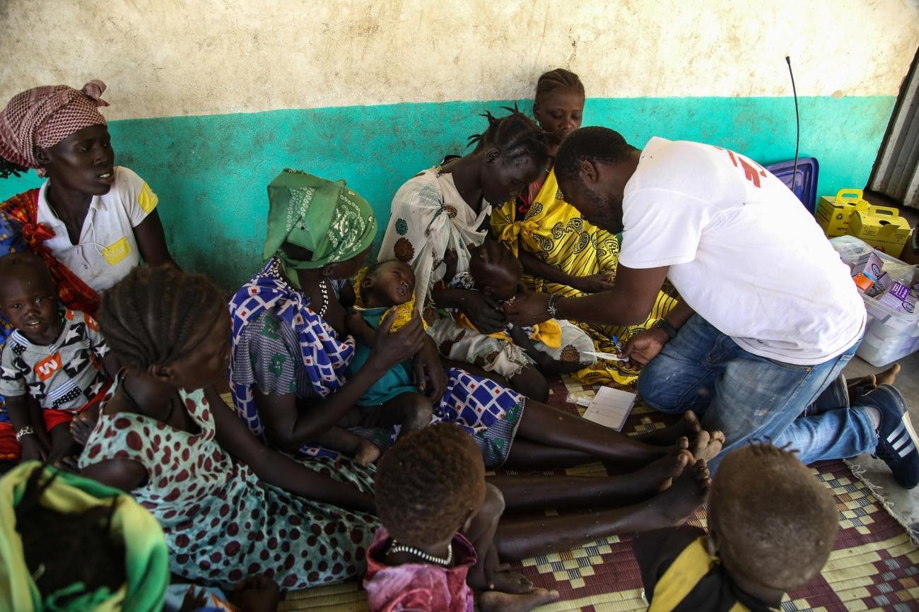 Ulang, Soudan du Sud.  © Igor Barbero/MSF