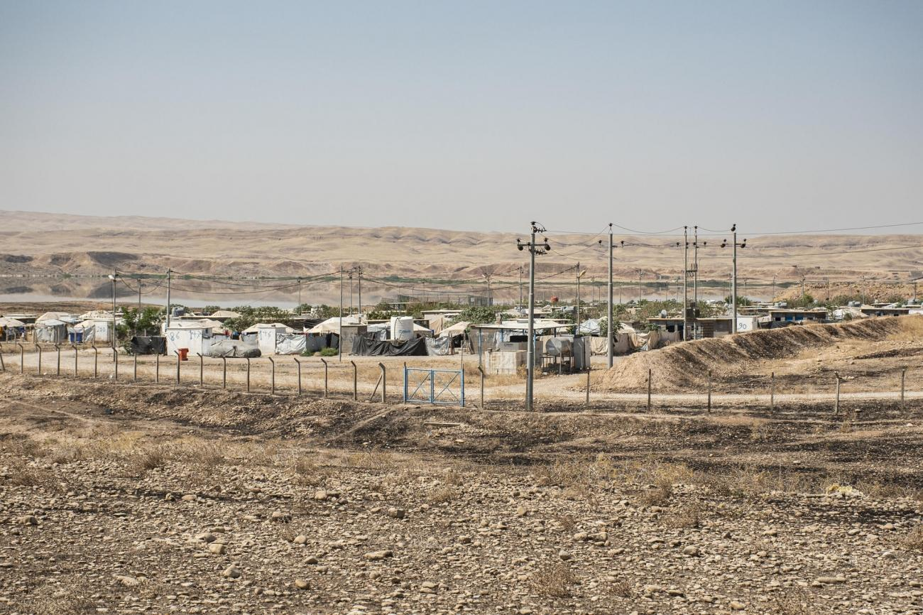 Vue générale du camp Alwand 2.  © MSF/Hassan Kamal Al-Deen