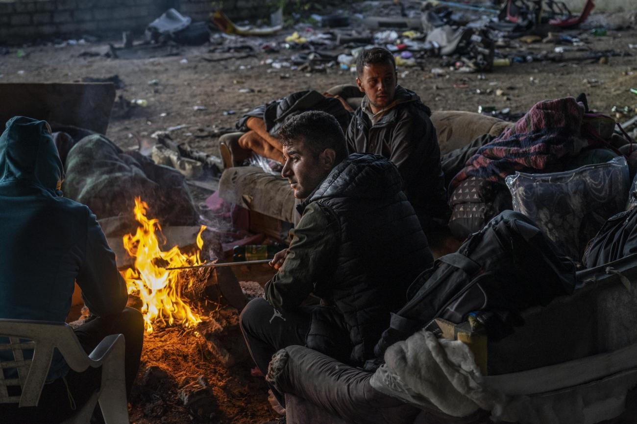 Les migrants et les demandeurs d'asile sont regroupés autour des villes de Bihac etVelika Kladusa, à la frontière avec la Croatie.  © Anna Pantelia/MSF