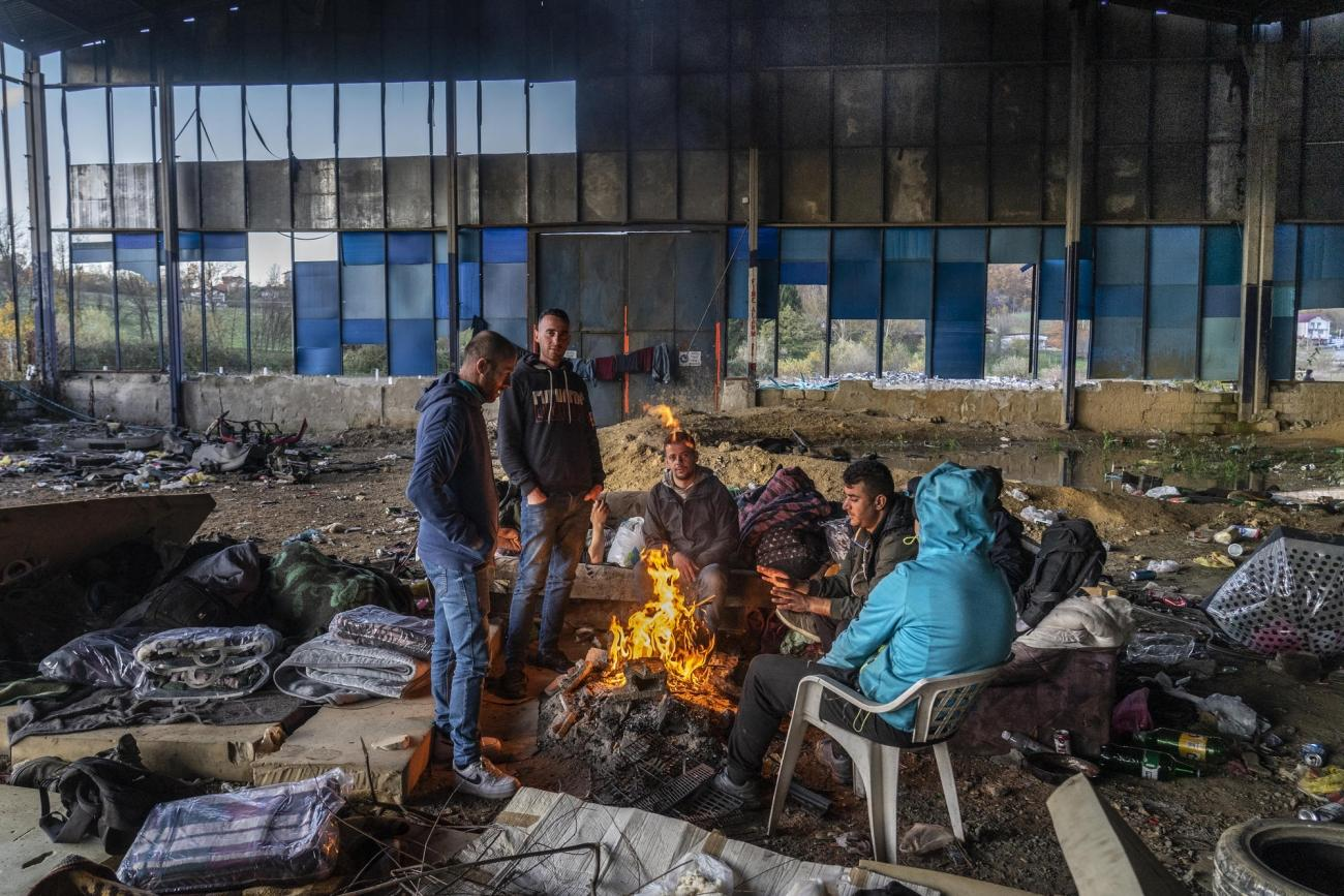 Velika Kladusa, Bosnie.  © Anna Pantelia/MSF