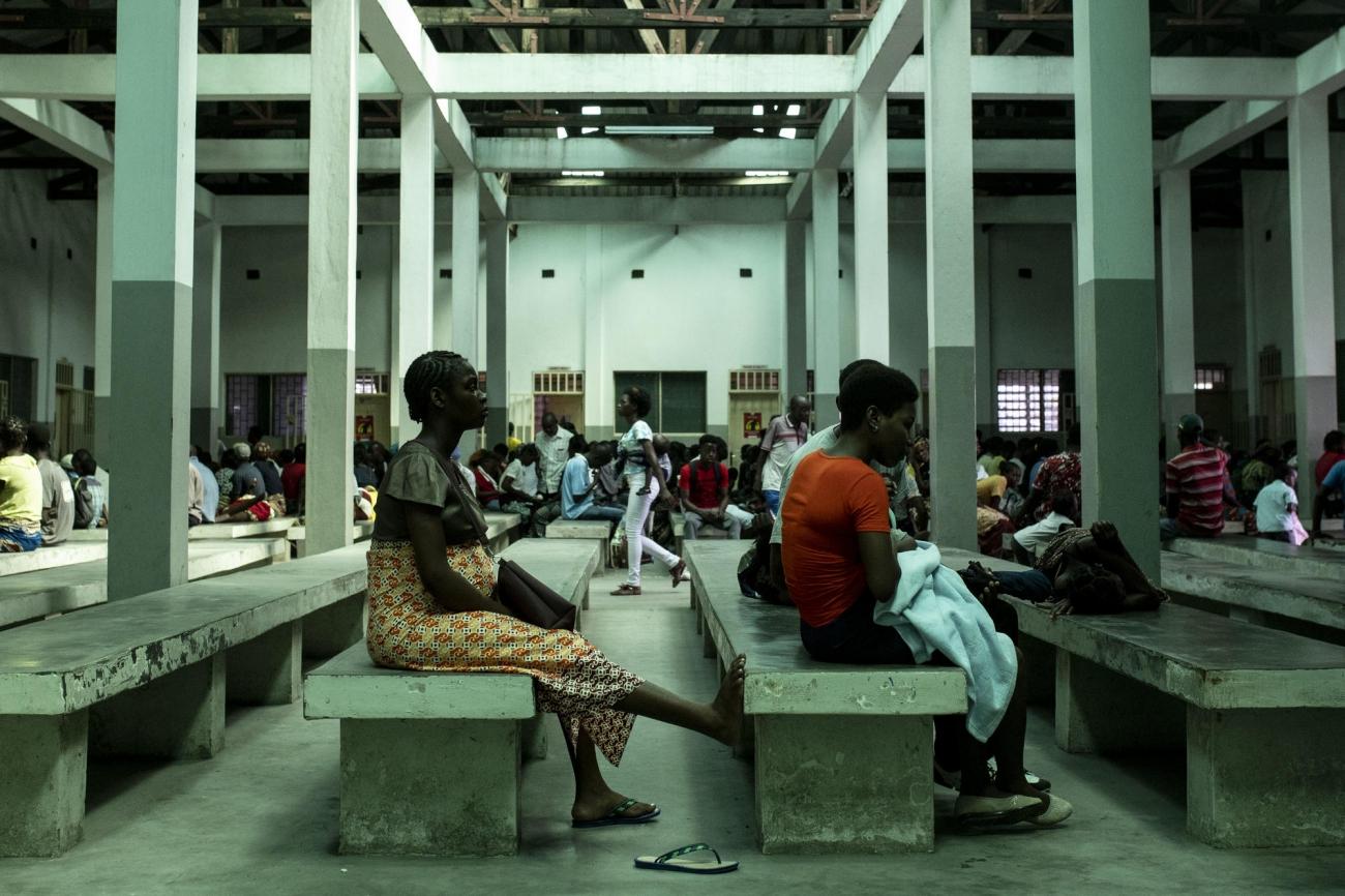 Beira, Mozambique.  © Pablo Garrigos/MSF