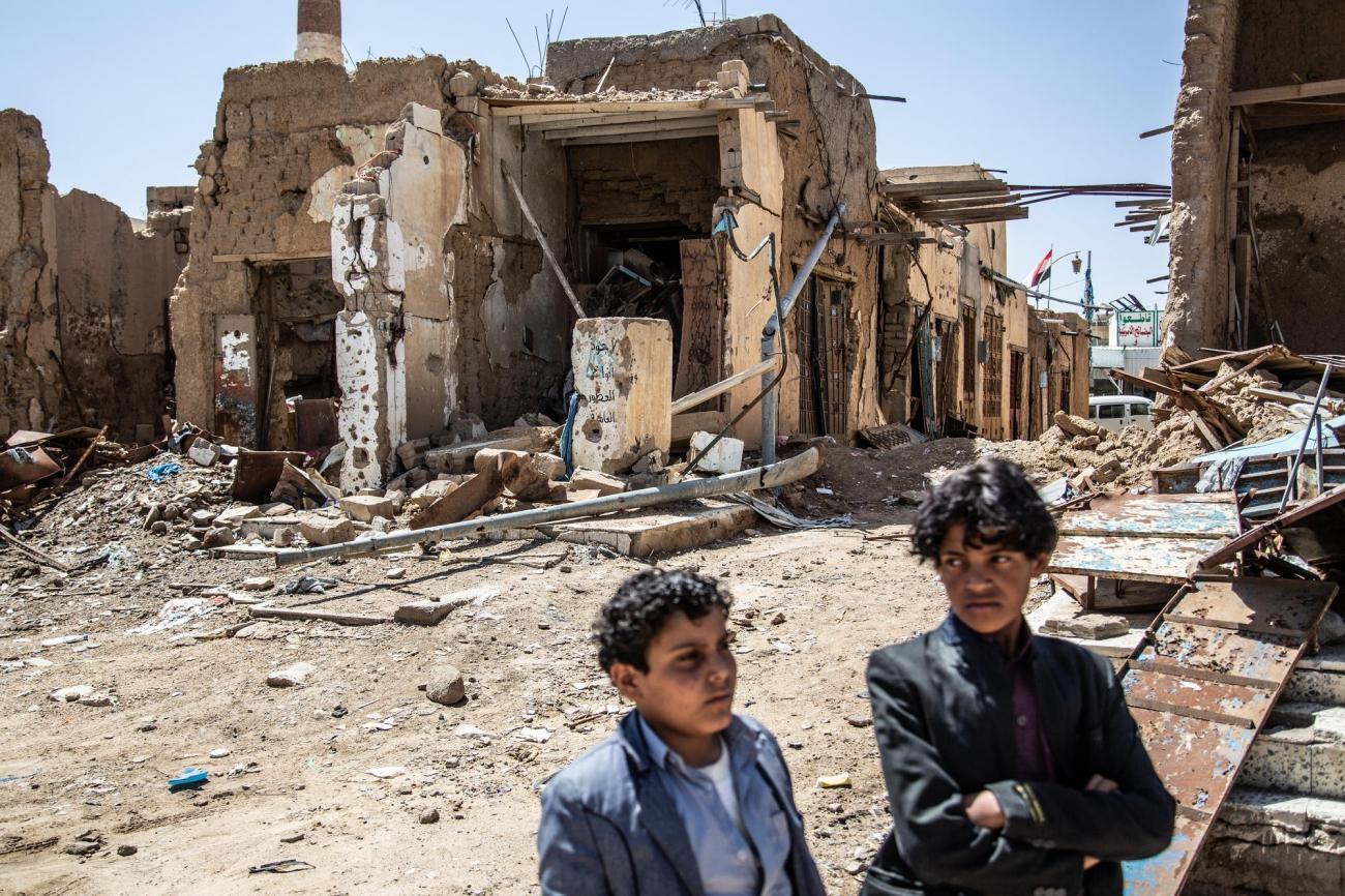 Saada, Yémen.  © Agnes Varraine-Leca/MSF