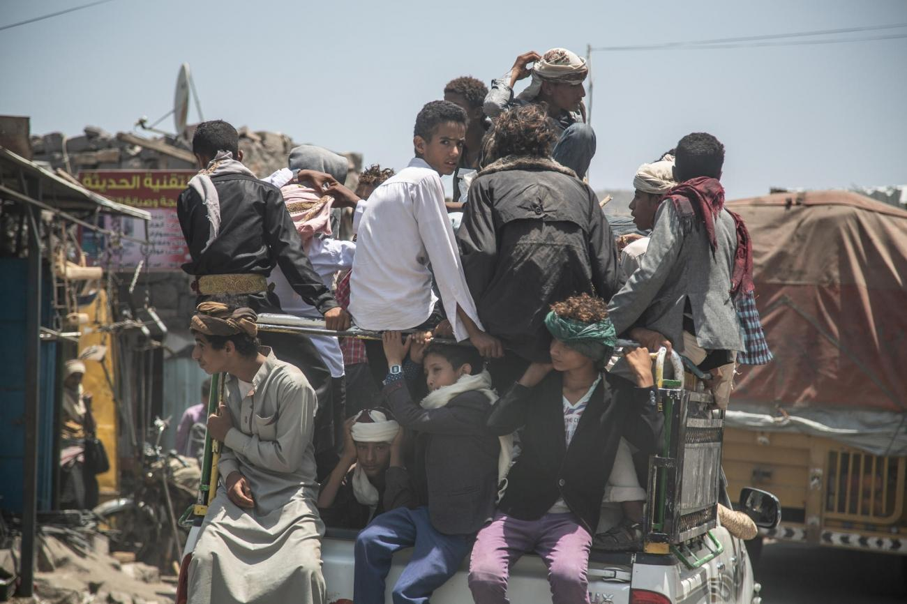 Hodeidah, Yémen.  © Agnes Varraine-Leca/MSF