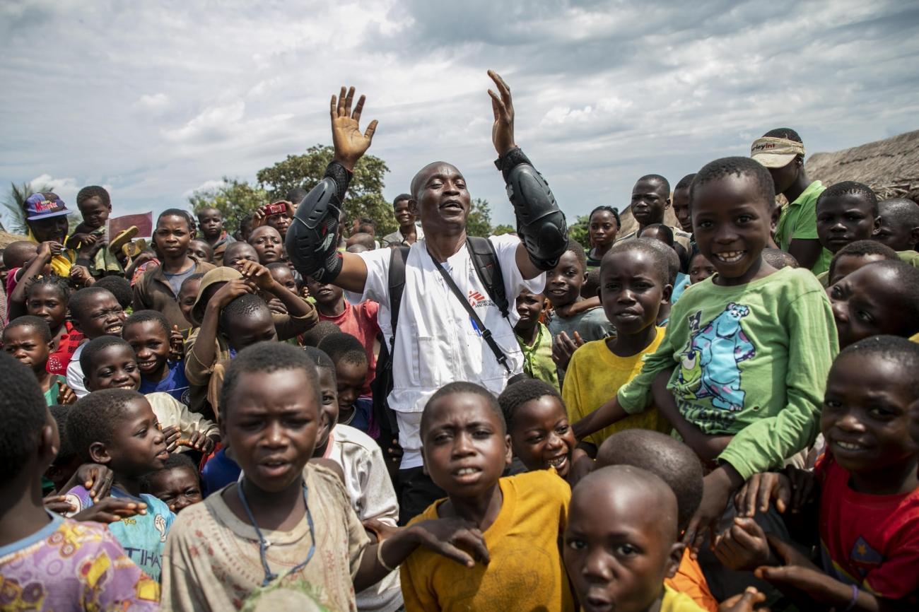 Lungonzo, République démocratique du Congo.  © Pablo Garrigos/MSF