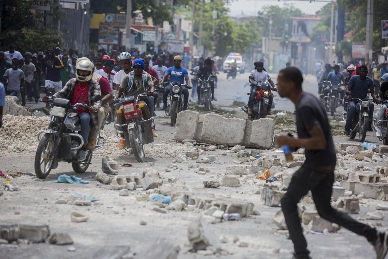 Port-au-Prince, Haïti.  © Jeanty Junior Augustin/MSF