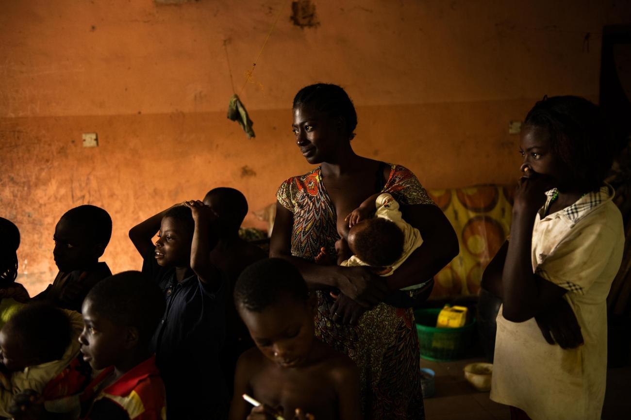 Camp d'Abagana, Nigeria.  © Benedicte Kurzen/NOOR