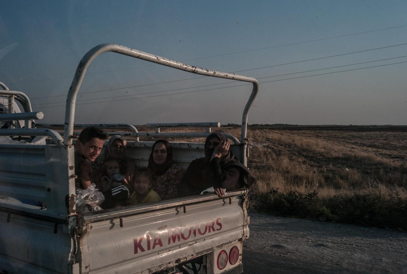 Nord-Est de la Syrie.  © Jake Simkin