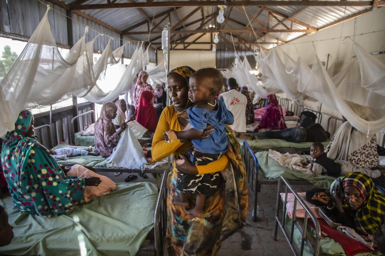 El Fasher, Soudan.  © Igor Barbero/MSF
