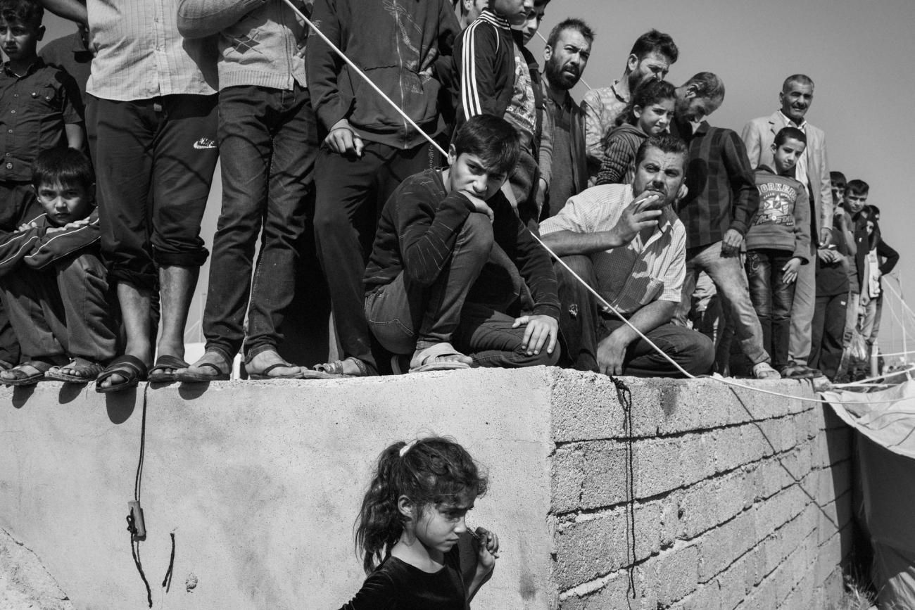 Camp de réfugiés deBardarash, Kurdistan irakien.  © Moises Saman / Magnum Photos