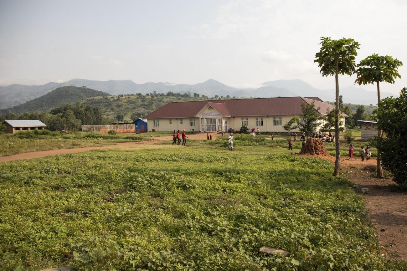 Hôpital de Kibirizi soutenu par MSF, territoire de Rutshuru, province du Nord-Kivu, République démocratique du Congo.  © Pablo Garrigos/MSF
