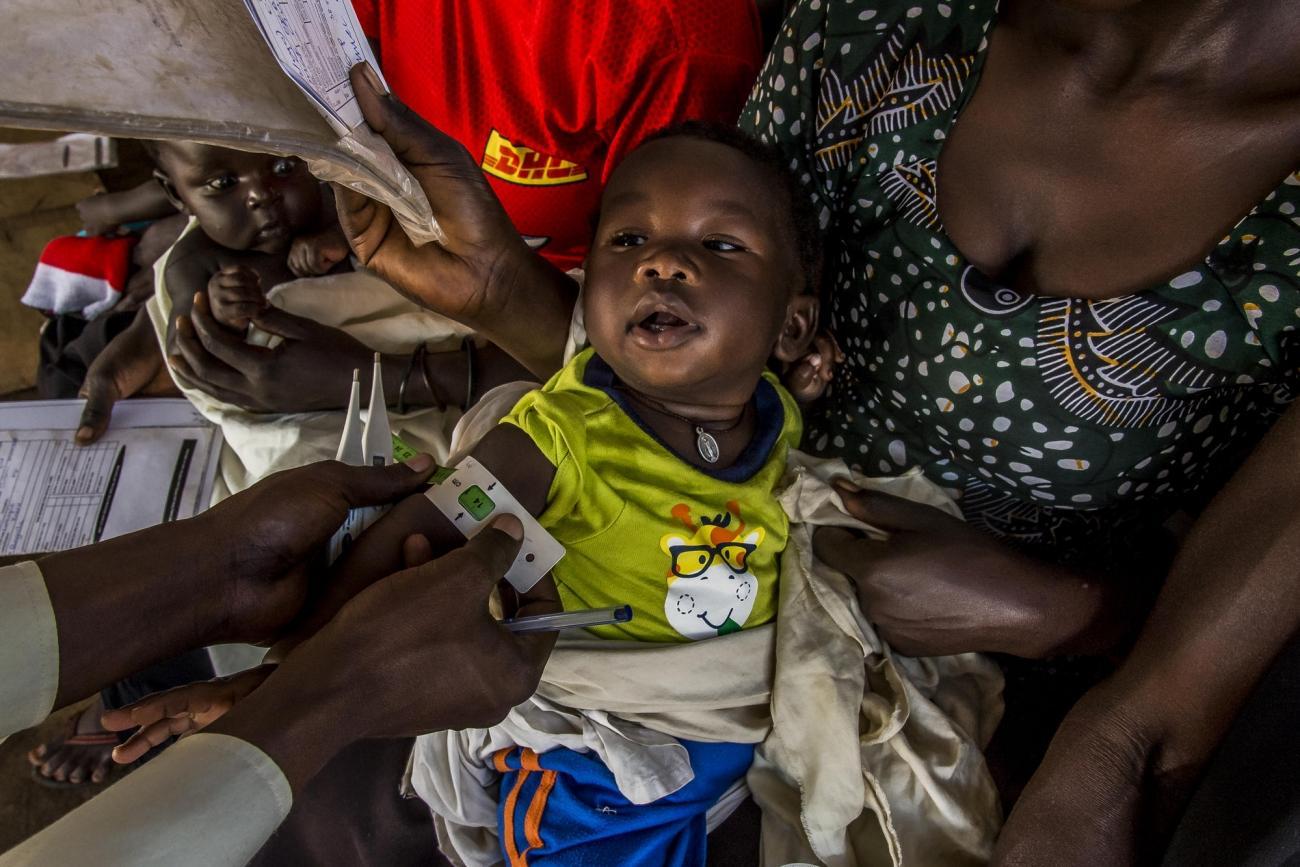 Centre de santé de Bidibidi,Ouganda.  © Frederic NOY/COSMOS