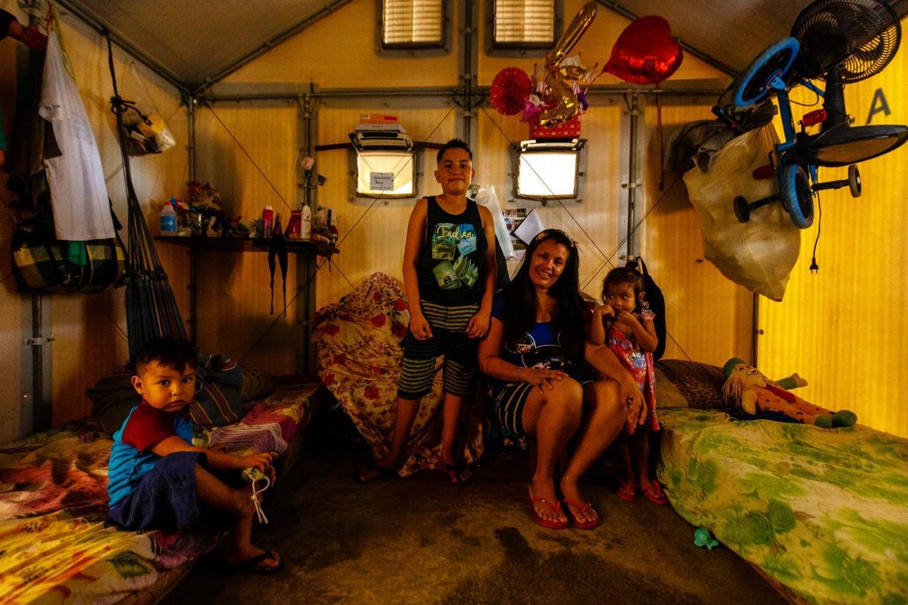 Portrait de Rebeca Laya et sa famille.  © DiegoBaravelli