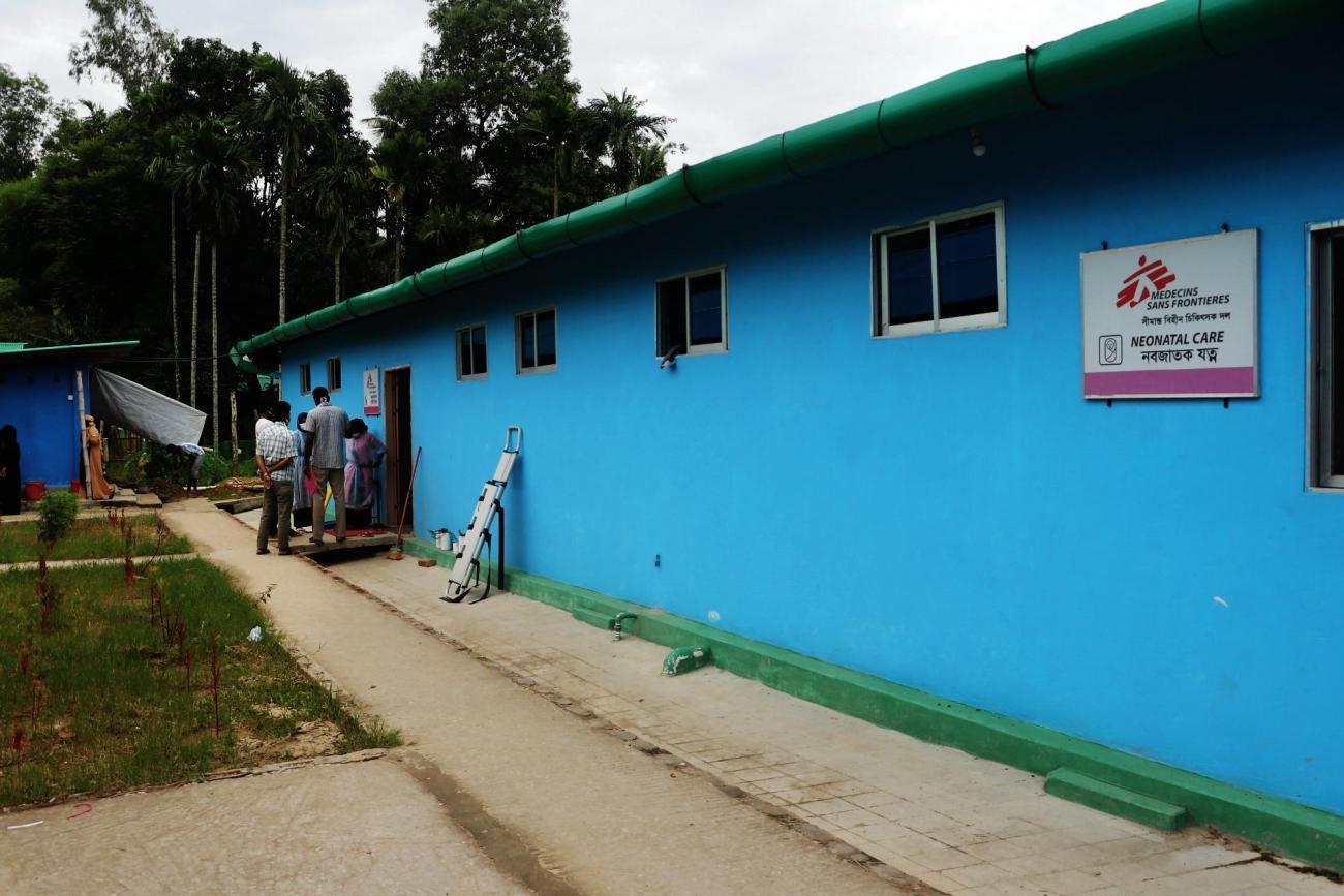 Le service de soins néonatals de l'hôpital MSF de Goyalmara à Cox's Bazar.  © Hasnat Sohan/MSF